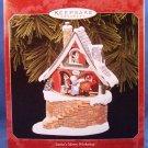 1998 - Hallmark - Keepsake Ornament - Santa's Merry Workshop - Christmas Ornament
