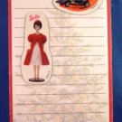 1998 - Hallmark - Mattel - Shopping List With Magnets