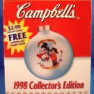 1998 - Campbell Soup Company - Good For The Body / Good For The Soul - Christmas Ornament