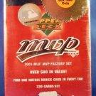2003 Upper Deck MVP MLB Baseball Factory Sealed Collector Tin Set - 330 Cards