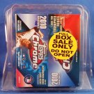 2010 - Topps - Chrome - Baseball - Box - Factory Sealed