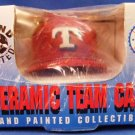 1994 - Score Board - Texas Rangers - Ceramic - Hand Painted - Red Baseball Cap
