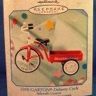 1999 - Hallmark - Keepsake - 1950 GARTON - Delivery Cycle - Sidewalk Cycle