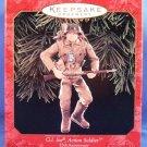 1999 - Hallmark - Keepsake - 35th Anniversary - G.I. Joe - Action Soldier - Christmas Ornament