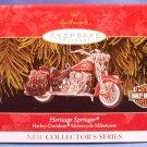 1999 - Harley Davidson Motorcycles - Heritage Springer - Christmas Ornament