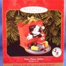 1999 - Hallmark - Keepsake Ornament - Piano Player Mickey - Mickey Mouse & Co - Ornament