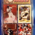 1996 - Bases Loaded - 75 Baseball Trading Card - Plus Auto John Smoltz Card