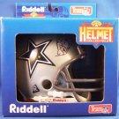 1995 - Riddell - Dallas Cowboys - Billy Joe Dupree - Autographed - Micro Helmet