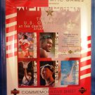 1996 - Upper Deck - U.S. Olympic Team - Limited Edition - Commemorative Sheet