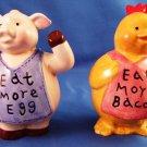 Bacon and Egg - Salt & Pepper - Shaker Set