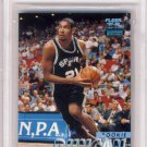 1997 - TIM DUNCAN - Fleer - TIFFANY - ROOKIE CARD - BGS 9.5 - GEM MINT - POP 5