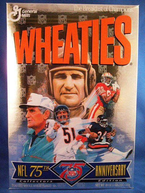 1993 Wheaties 75th Anniversary Superbowl Collectors