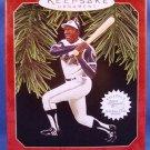 1997 - Hallmark - Keepsake Ornament -Hank Aaron - At The Ballpark - Christmas Ornament