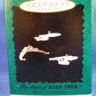 1995 - Hallmark - Keepsake Ornament - Star Trek - The Ships Of Star Trek - Ornaments