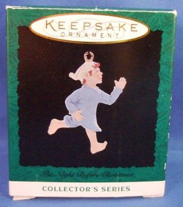 1994 - Hallmark - Keepsake Ornament -The Night Before Christmas - Miniature Ornament