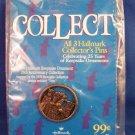 1998 - Hallmark - Keepsake Ornaments - 25th Anniversary - Collector Pin #1 - Toys