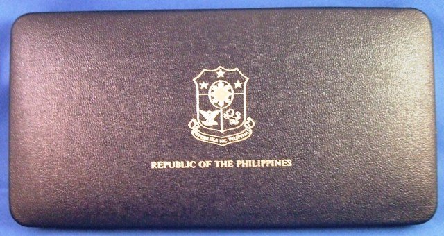 1980 Republic Of The Philippines Proof 7 Coin Set In