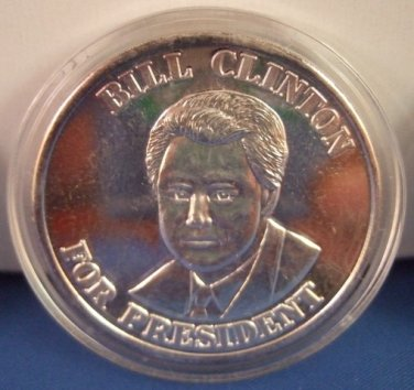 1993 Bill Clinton For President Liberty Made In