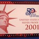 1999 - US MINT - Silver Proof - 9-Coin Set - Original Box & COA