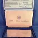 1999 -  National Collector's Mint - $1 Silver Certificate