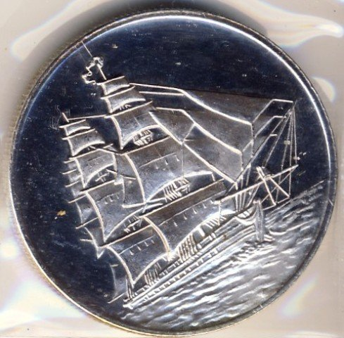 Ship Silver Trade Unit One Troy Ounce 999 Fine