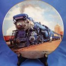 "1990 - The Blue Comet - The Golden Age of American Railroads - 8"" Plate Collection"