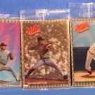 Lot of 10 1993 Nolan Ryan Whataburger Triad 10 Card Recollections Set