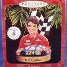 1997 - HALLMARK - JEFF GORDON - KEEPSAKE ORNAMENT- WITH TRADING CARD