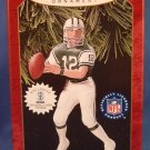 1997 - Hallmark - Keepsake Ornament - Joe Namath - Football Legends - Christmas Ornament