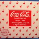 1998 - Coca-Cola - Passing the Day in a Special Way - Figurine - Limited Edition