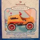 "1999 Hallmark ""1956 Garton Hot Rod Racer"" Die Cast Metal Ornament 1st in Series"