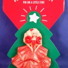 1995 - Hallmark - Keepsake Ornament - Barbie - Holiday Pin - Ornament