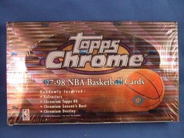 1997/98 - Topps - Chrome - NBA Basketball - Hobby Box