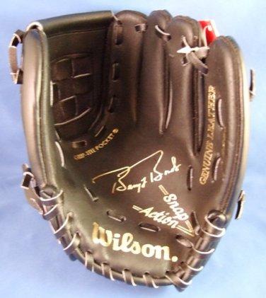 1993 - Barry Bonds - Wilson - Autograph Model - Youth - Black Baseball Glove