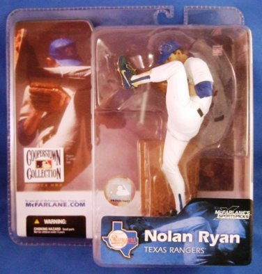 2004 - Nolan Ryan - McFarlane's - Sports Action Figure - Texas Rangers - Baseball
