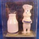 Pillsbury Doughboy - Milk Bottle - Salt & Pepper Shaker