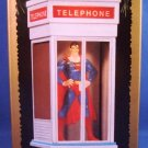 1995 - Hallmark - DC Super Heroes Collection - Superman - Telephone Booth - Ornament
