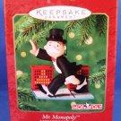2000 - Hallmark - Keepsake - 65th Anniversary - Mr. Monopoly - MONOPOLY Game - Christmas Ornament
