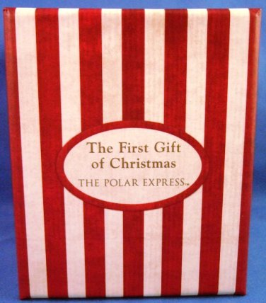 2004 hallmark keepsake ornament the polar express the first gift of christmas ornament
