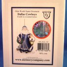 2004 - The Memory Company - Dallas Cowboys - Olde World Santa Ornament Collection