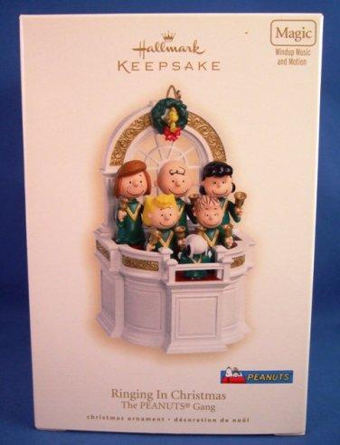 2007 - Hallmark - Keepsake Ornament - Peanuts - Ringing In Christmas - Christmas Ornament