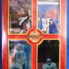 2000 - 8 NFL Premium Factory Sealed Packs - Championship Collection (2) Tom Brady