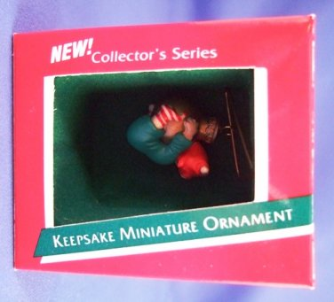 1989 - Hallmark - Keepsake Ornament - Load 0f Cheers  - Miniature Ornament