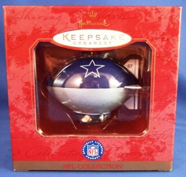 1997 - Hallmark - Keepsake Ornament - NFL Collection - Dallas Cowboys - Football Ornament
