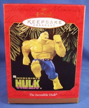 1997 - Hallmark - Keepsake Ornament - Marvel - The Incredible Hulk - Christmas Ornament