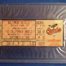 Cal Ripken Jr. - 2131 - September 6, 1995 - Authentic - Unused - Full Game Ticket PSA 8