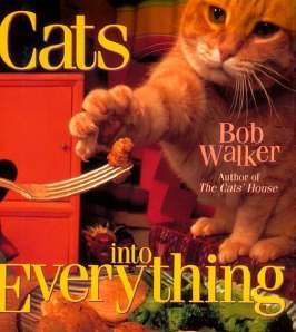 Cat's into Everything 1st Edition HB Book Bob Walker