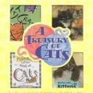 Treasury Of Cats 4 Little HB Book Library NEW Gift Lot