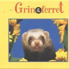 Grin and Ferret Among Flowers Box 12 Greeting Cards NEW