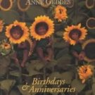 Sunflower Baby Anniversaries Birthdays Anne Geddes NEW